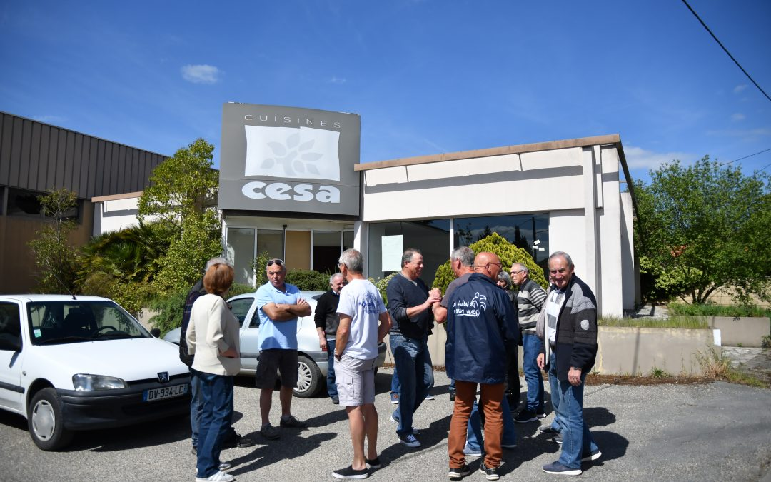 Visite des anciens ouvriers CESA